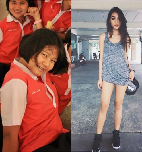 <p> Hình ảnh Naika cách đây khoảng 4-5 năm và vẻ ngoài xinh xắn hiện tại.</p>