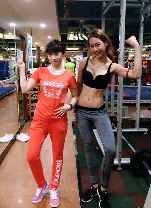 <p> Naika còn là tín đồ của nhiều môn thể thao, tập luyện gym chăm chỉ từ vài năm nay.</p>