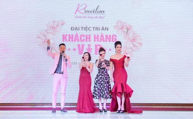 Trịnh Kim Chi lộng lẫy tỏa sáng trong Đại tiệc tri ân của Thẩm mỹ viện Rmeilan (bài xin Edit) - 1