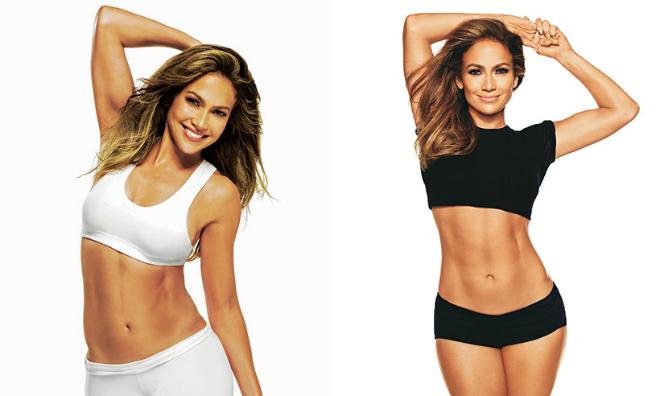 J.Lo ở độ tuổi U50.