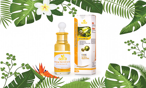 Bạn có thể tiết kiệm đến 30% khi muadầu massage Goldtại Shop VnExpress.
