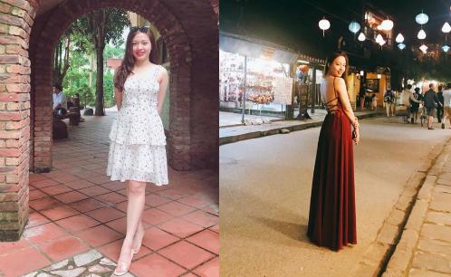 Vóc dáng nuột nà của Linh Chi sau khi giảm cân thành công.