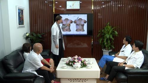 Công nghệ 4.0 giúp các bác sĩ chẩn đoán cụ thể hơn trong những trường hợp khó cần hội chẩn.