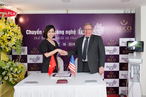 Ruco cùng đối tác ký kết chuyển giao công nghệ Thermage thế hệ mới của Mỹ về Ruco.