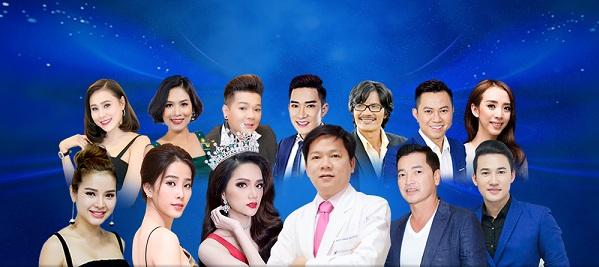 Đại hội thẩm mỹ Toả sáng cùng sao quy tụ nhiều nghệ sĩ Việt.