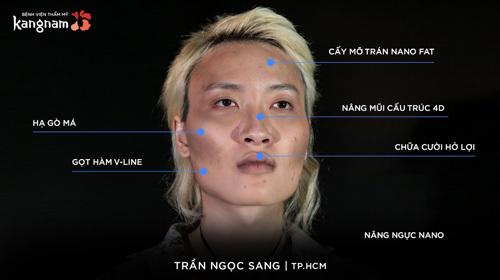 Trần Ngọc Sang đã trải qua nhiều cuộc đại phẫu.