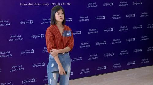 Mong muốn thay đổi ngoại hình, Nguyễn Thị Vân đăng ký tham gia Hành trình lột xác.