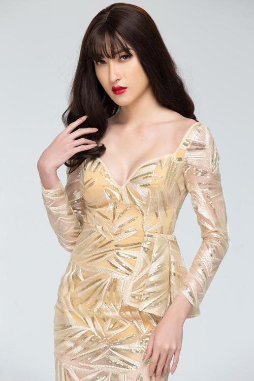 Trần Ngọc Sang - người mẫu chuyển giới nam sang nữ sở hữu những đường cong quyến rũ sau phẫu thuật thẩm mỹ.