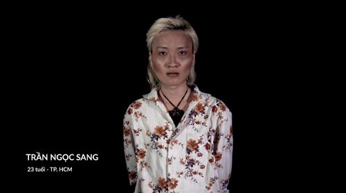 Trần Ngọc Sang trước khi chưa thẩm mỹ.