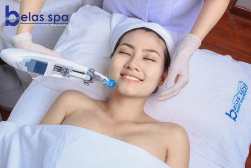 Phương pháp làm đẹp không gây đau rát, không ảnh hưởng tới sức khỏe và sinh hoạt hàng ngày.