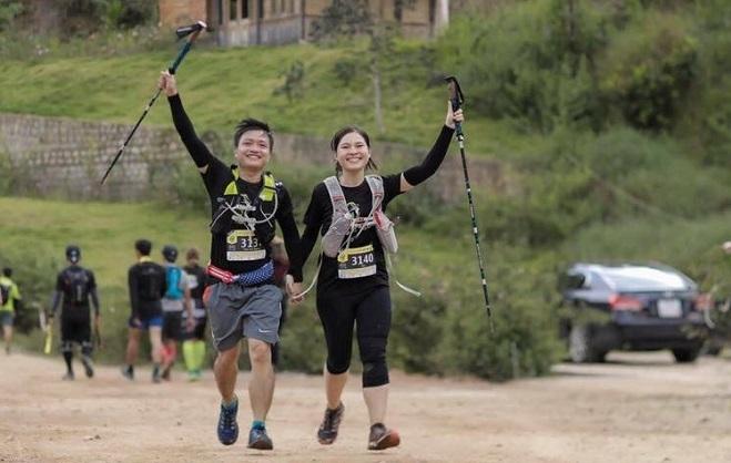 Giải chạy 35 km xuyên rừngtại Đà Lạt . Ảnh: Nhân vật cung cấp
