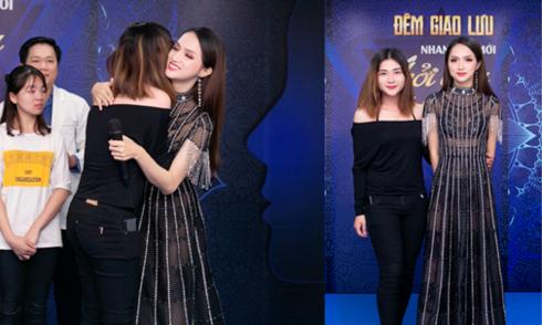 Hoa hậu chuyển giới Hương Giang hỗ trợ 100 triệu giúp Thoại Vy hiện thực ước mơ thành con gái.