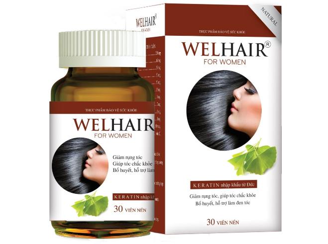 Viên uống Welhair for Women - giải pháp mới cho chứng rụng tóc ở nữ giới.