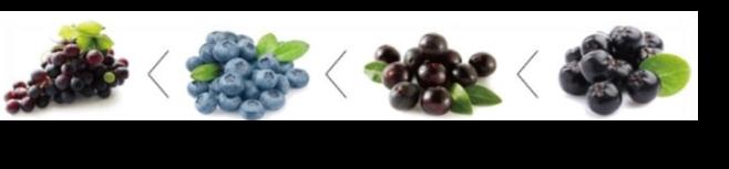 Hàm lượng Anthocyanin có trong quả.
