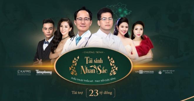 Bệnh viện thẩm mỹ Đông Á chi một triệu USD cho Tái sinh nhan sắc mùa 2