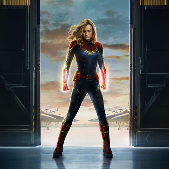 Brie Larson khoe thân hình vừa thon thả vừa rắn chắc, mạnh mẽ trong phim Captain Marvel. Ảnh: Vox.
