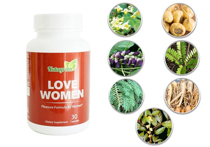 Viên uốngLove Women đang có chương trình ưu đãi trên Shop VnExpress. Sản phẩm này không phải là thuốc và không có tác dụng thay thế thuốc chữa bệnh. Giấy xác nhận quảng cáo số00473/2018/ATTP-XNQC.