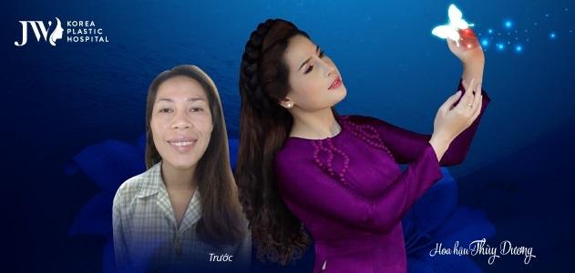 Nhờ gương mặt xinh đẹp sau phẫu thuật hàm hô, Thuỳ Dương đăng quang Hoa hậu doanh nhân toàn cầu tại Hàn Quốc