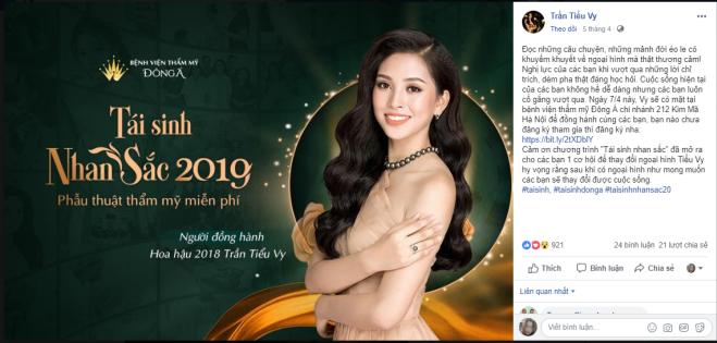 Hoa Hậu Tiểu Vy chia sẻ về cảm xúc của mình sau vòng tuyển chọn trực tiếp tại Hà Nội