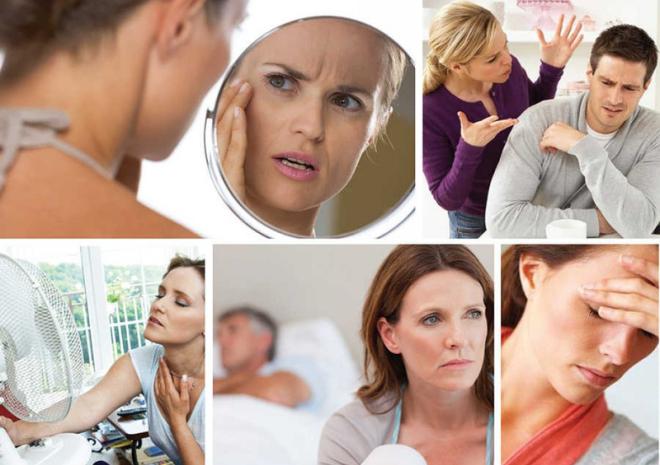 Nhiều chị em rơi vào tình trạng khó chịu, tính cách thay đổi bất thường khi bước vào tiền mãn kinh, mãn kinh.