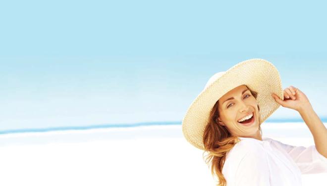 Tinh chất hạt nho có khả năng chống nắng cao nhờ ức chế sản sinh Melanin ngăn sạm da, cháy nắng.