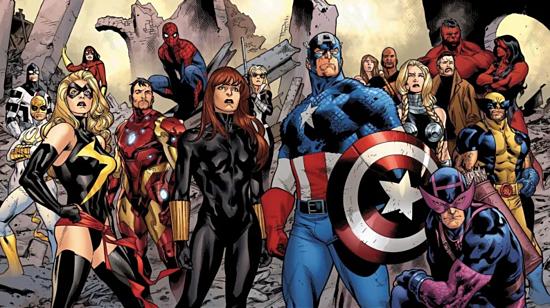 Một số nhân vật anh hùng của Marvel Comics. Ảnh: Marvel Comics.