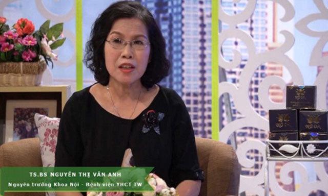 TS . BS Nguyễn Thị Vân Anh khuyên dùng sản phẩm phụ khoa nữ oa.