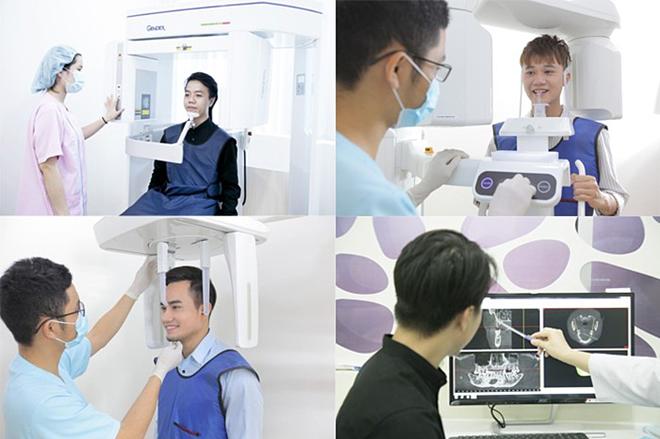 Các trang thiết bị hiện đại được sử dụng tại phòng khám.