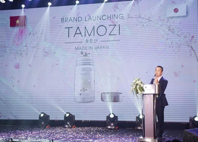Chủ tịch Lê Hải Bình - Founder Công ty truyền thông Social8 Asia (đối tác chiến lược về truyền thông, phân phối sản phẩm TAMOZI DIET) phát biểu tại sự kiện