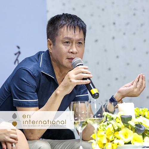Đạo diễn Lê Hoàng tại talkshow