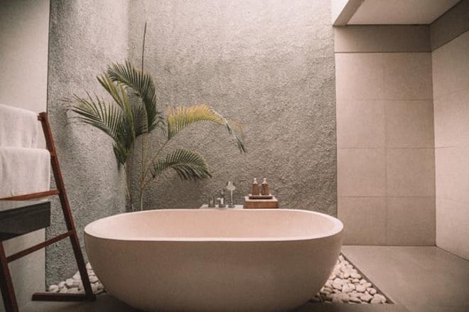 Phòng tắm sang trọng của người La Mã.
