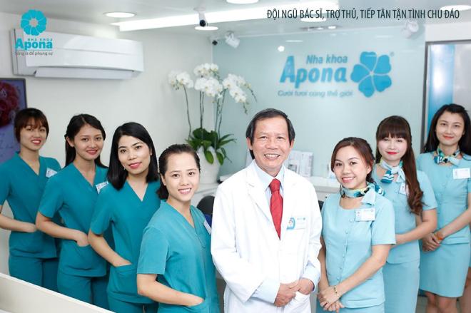 Đội ngũ bác sĩ, nha sĩ tại Nha khoa Anna thăm khám và tư vấn miễn phí.