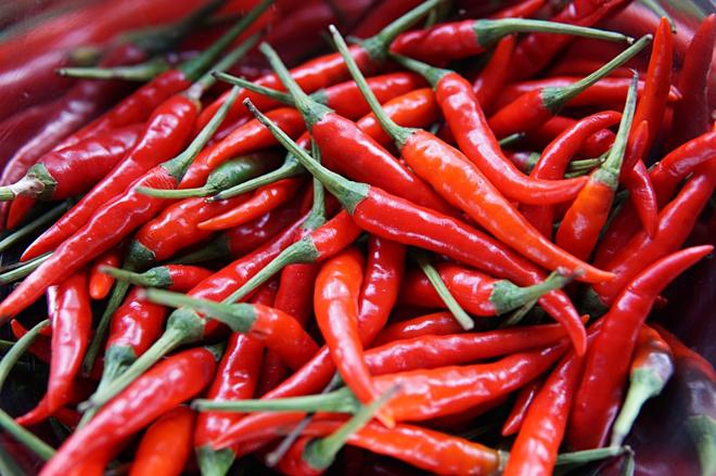 Quả ớt chứa nhiều dưỡng chất tốt cho sức khoẻ. Ảnh: unsplash