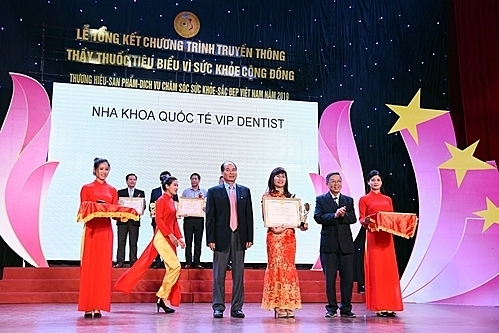 Nha khoa Quốc tế Vip Dentist vinh dự đón nhận
