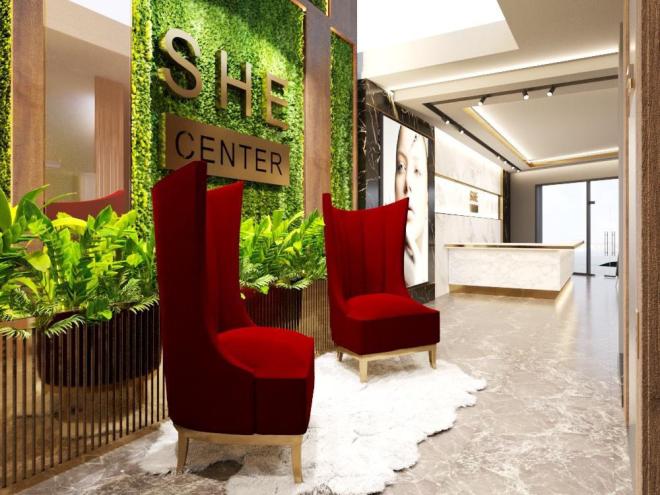 Làm đẹp theo tiêu chuẩn 5 sao tại thẩm mỹ SHE Center