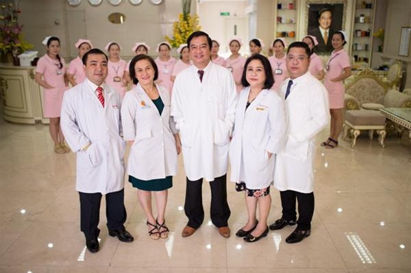 Đội ngũ bác sĩ giàu kinh nghiệm, tâm huyết với nghề tại Bệnh viện Thẩm mỹ Thanh Vân.