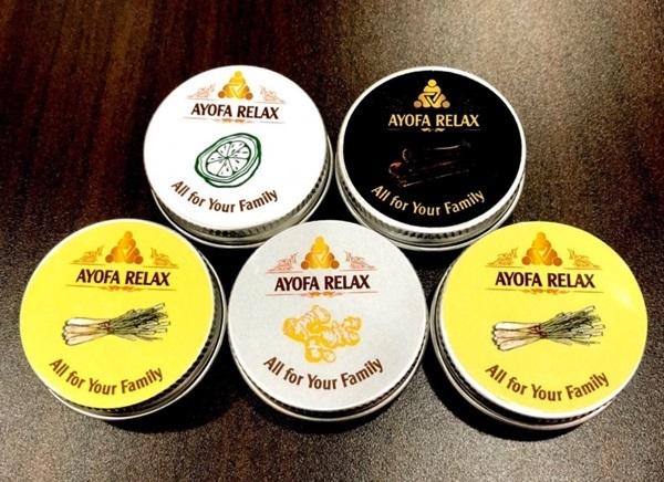 4 hương tinh dầu khác nhau giúp người dùng có nhiều lựa chọn.
