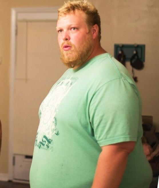 Cân nặng đỉnh điểm của Eric đạt 188 kg. Ảnh: Mens Health