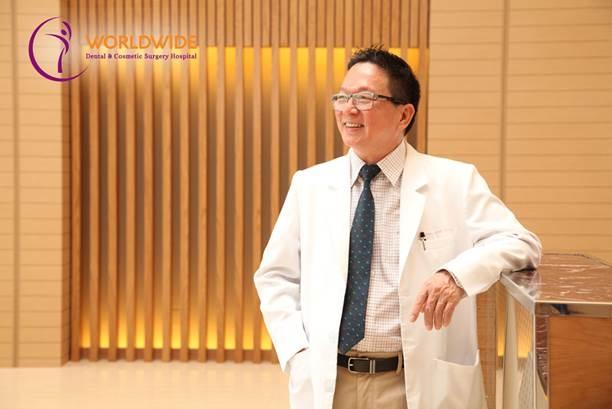 Tiến sĩ, bác sĩ Đỗ Đình Hùng cho biết hạnh phúc khi mang lại nụ cười tươi khỏe cho nhiều bệnh nhân.