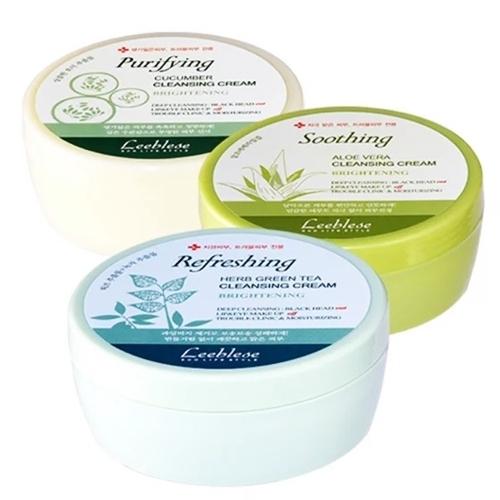 Kem tẩy trang Leeblesecó tác dụng làm sạch,nuôi dưỡng da.