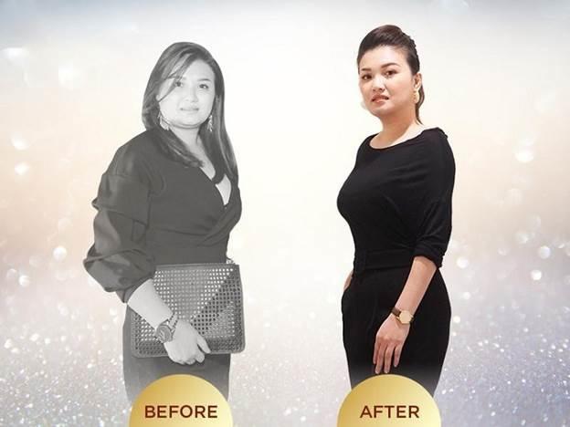 Chị Hiền - nhân viên văn phòng giảm 15,5kg chỉ sau 2 tháng với phương pháp giảm cân Miko Diet.