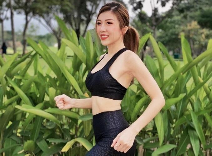 Trang Pháp đề cao việc chạy bộ, tốt cho sức khỏe và vóc dáng.