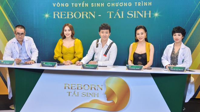 Trấn Thành làm giám khảo chương trình thẩm mỹ của Thu Cúc