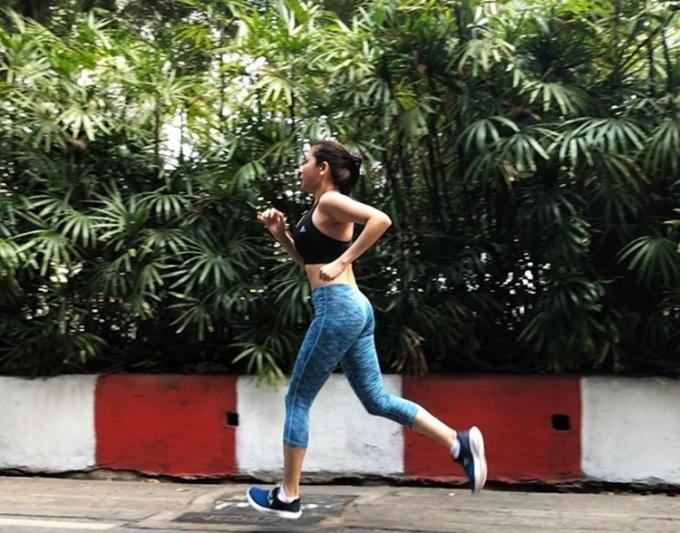 Phương Trang duy trì thói quen chạy bộ nhiều năm nay.