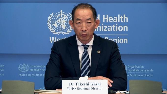 Ông Takeshi Kasai, giám đốc WHO khu vực Tây Thái Bình Dương. Ảnh: WHO