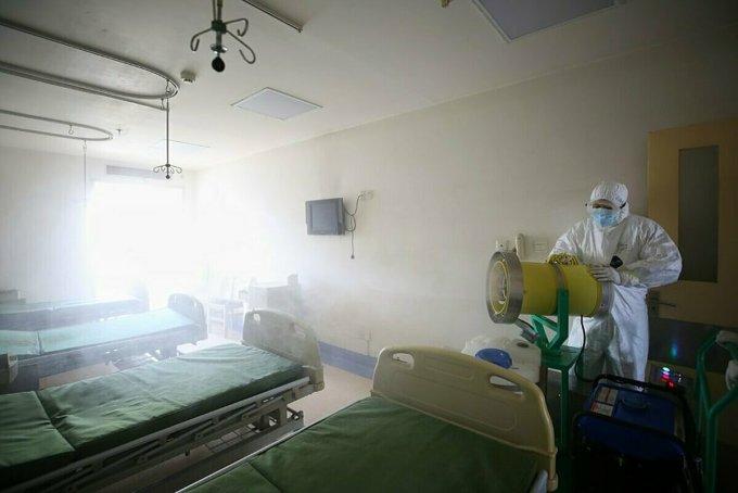 Tìm thấy nCoV trong không khí tại bệnh viện Vũ Hán