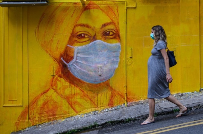 Phụ nữ mang thai tại Mỹ và nhiều nước trên thế giới trải qua nhiều khó khăn giữa đại dịch. Ảnh: AFP