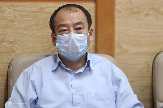 Ông Trần Đắc Phu,Cố vấn cao cấp Trung tâm đáp ứng khẩn cấp Sự kiện Y tế công cộng Việt Nam. Ảnh: Gia Chính.