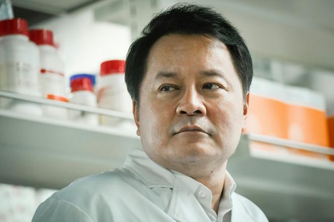 Ông Sunney Xie, giám đốc phòng nghiên cứu thuộc Đại học Bắc Kinh, Trung Quốc. Ảnh: AFP