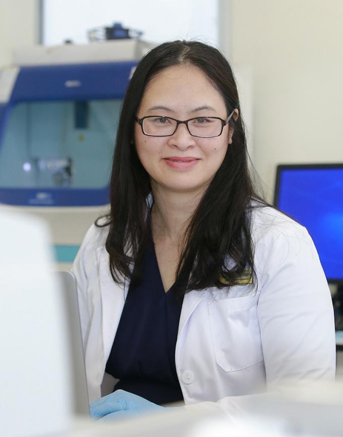Tiến sĩ Trần Thị Thanh Huyền - Giám đốc Khối Di truyền Y học Viện Nghiên cứu Tế bào gốc vàcông nghệ gen Vinmec.